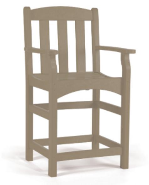 Breezesta Skyline Captain's Counter ARM Chair