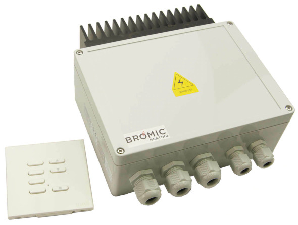 Wireless Dimmer Control System for Electric Bromic Heaters