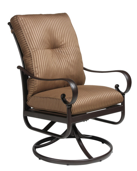 Santa Barbara Full Cushion Swivel Rocker by Hanamint