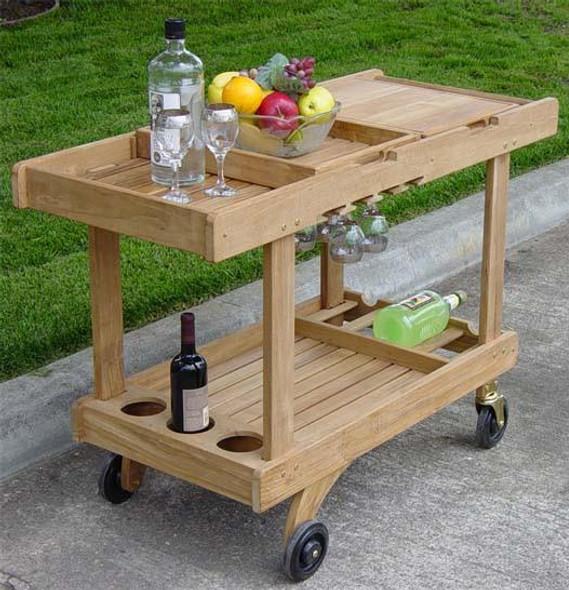 Classic Teak  Serving Cart