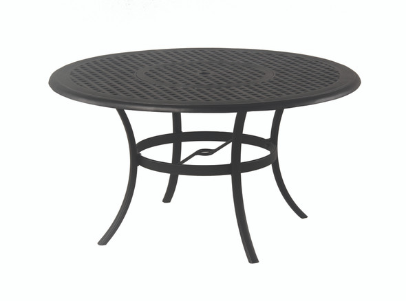 "NEW Classic 54"" Round Inlaid Laze Susan Table"