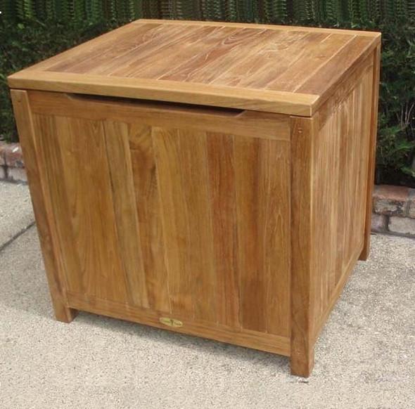 Classic Teak Storage Box Small