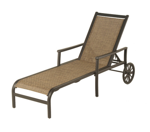 Stratford Sling Chaise Lounge By Hanamint