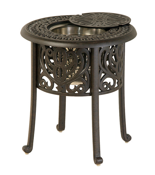 "Tuscany 20"" Round Ice Bucket Side Table By Hanamint"