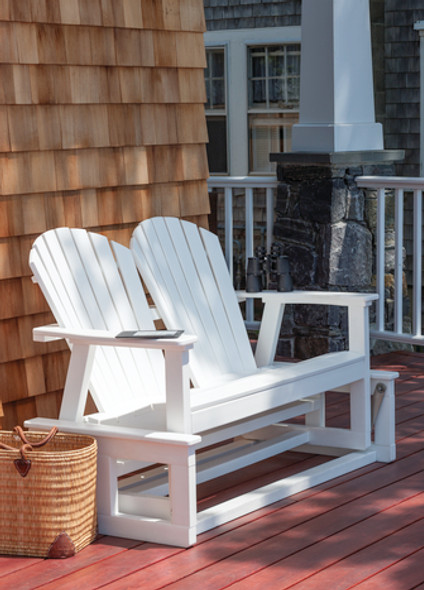 Adirondack Shellback Glider by Seaside Casual