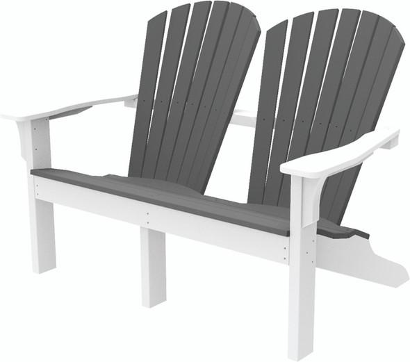 Adirondack Shellback Love Seat by Seaside Casual