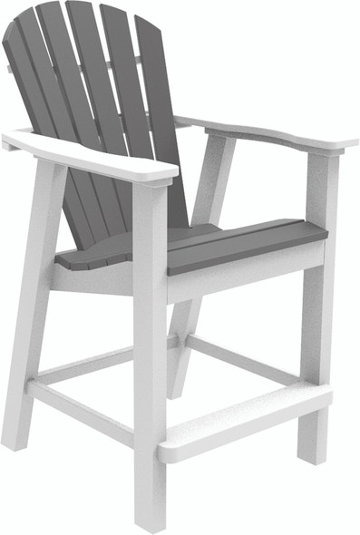 Adirondack Shellback Balcony Chair by Seaside Casual