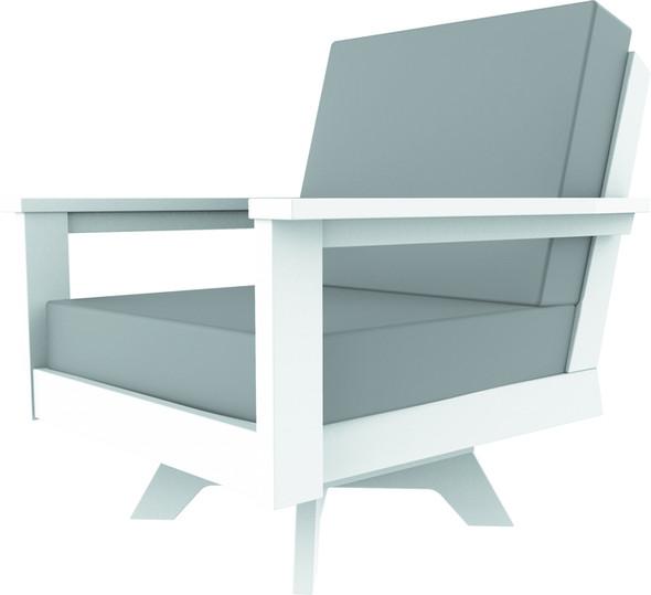 DEX Swivel Lounge Chair By Seaside Casual