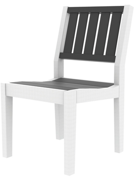 Greenwich Dining Side Chair Slatted Back Style By Seaside Casual