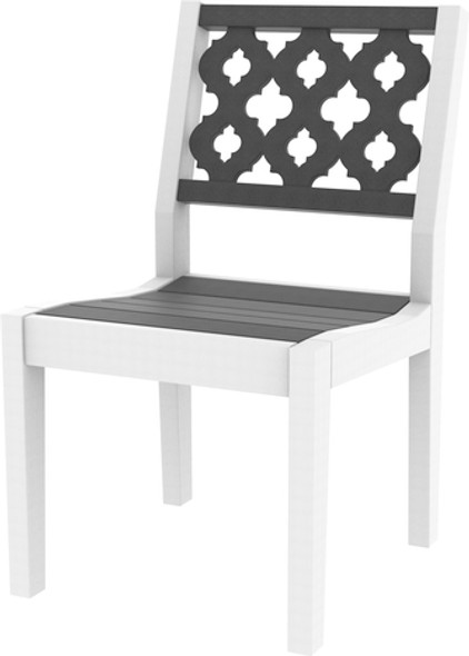 Greenwich Dining Side Chair Provencal Back Style By Seaside Casual
