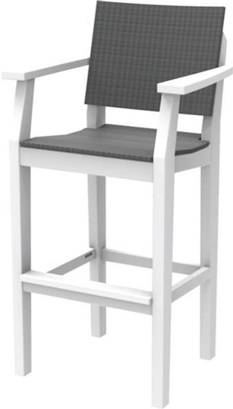 MAD Bar Arm Chair Woven By Seaside Casual