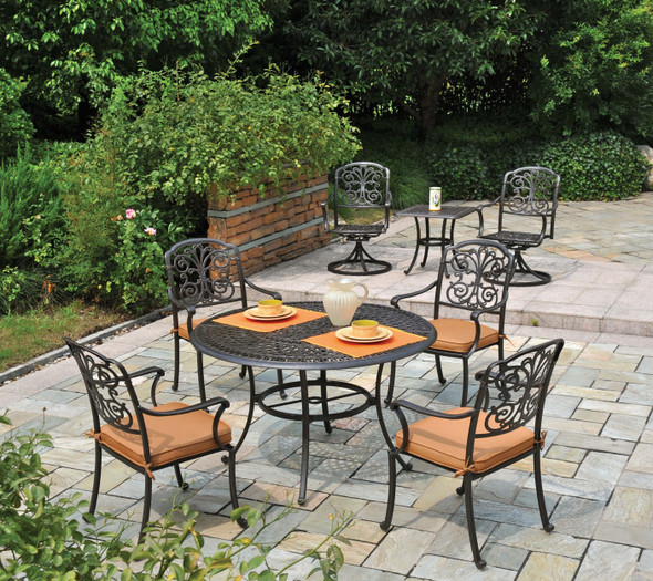 """Bella 48"""" Round Table Set by Hanamint"""