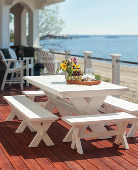 "Sonoma 36"" Dining Bench by Seaside Casual"