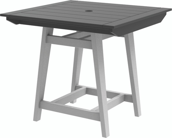 "MAD Balcony Table 40"" x 40"" by Seaside Casual"