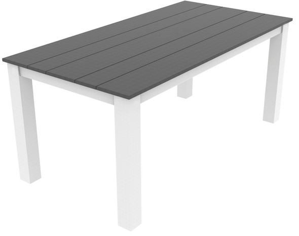 "Greenwich Dining Table 35"" x 70"" By Seaside Casual"