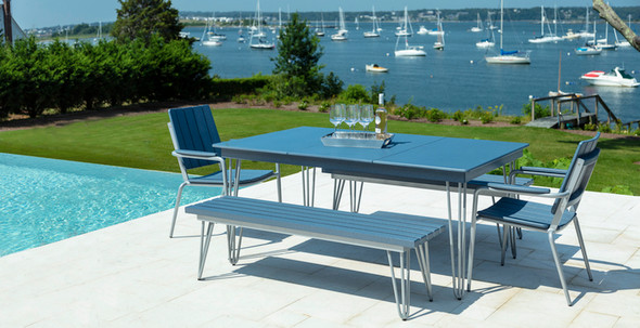 HIP Long Dining Table By Seaside Casual