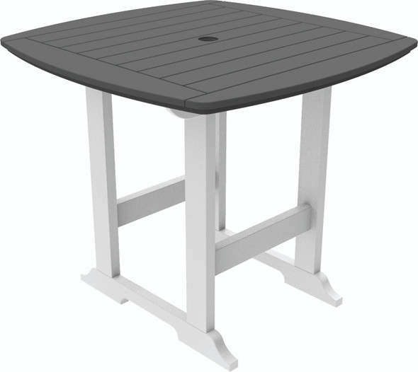 "Portsmouth Balcony Table 42"" x 42"" By Seaside Casual"