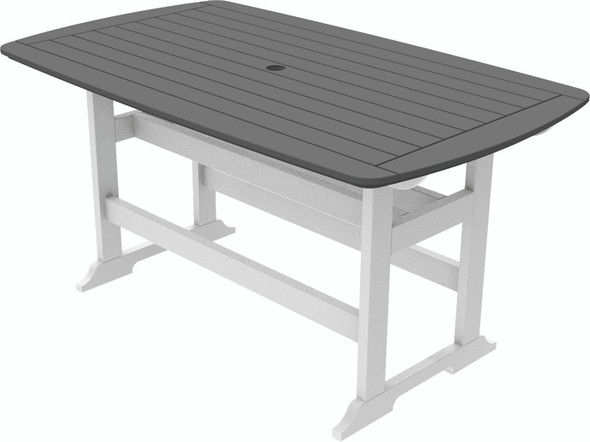 "Portsmouth Balcony Table 42"" x 72"" By Seaside Casual"