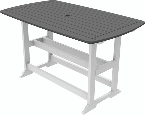 """Portsmouth Bar Table 42"""" x 72"""" By Seaside Casual"""