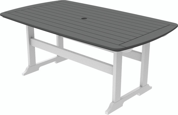 "Portsmouth Dining Table 42"" x 72"" By Seaside Casual"