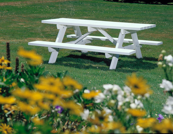 Traditional Picnic Table By Seaside Casual
