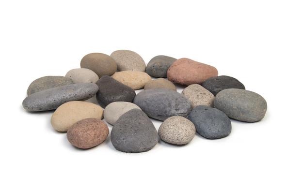 20-Pc. River Rock Fyre Stones by American Fyre Design