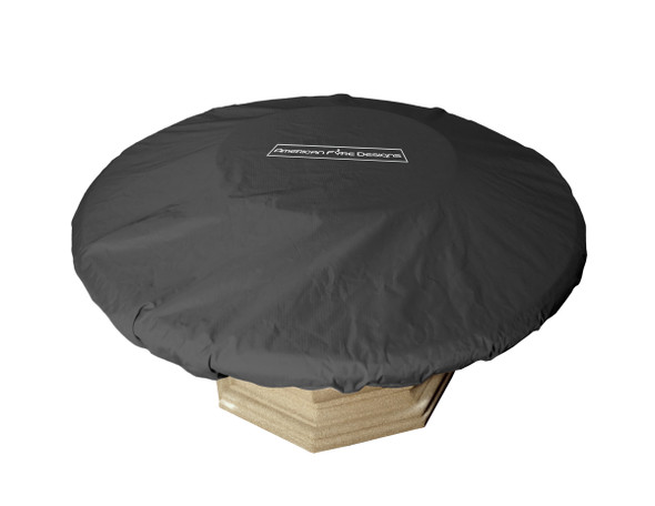 "54""/60"" Round Firetable Cover by American Fyre Design"