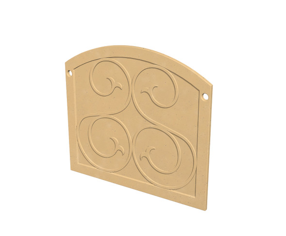 GFRC Protector Plate by American Fyre Design