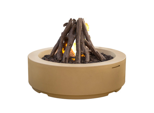 Louvre Round Fire Pit by American Fyre Design