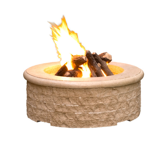 Chiseled Fire Pit by American Fyre Design