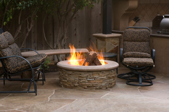 Contractor's Model Fire Pit by American Fyre Design