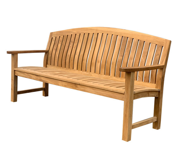 Glaser Teak Bench 6' by Classic Teak