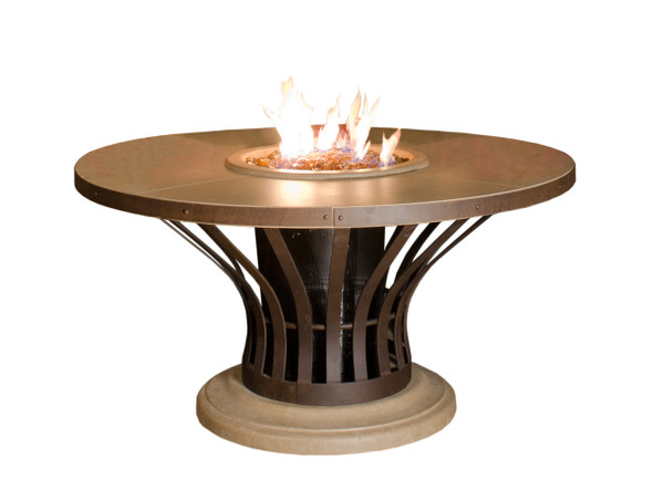 Fiesta Dining Firetable by American Fyre Design