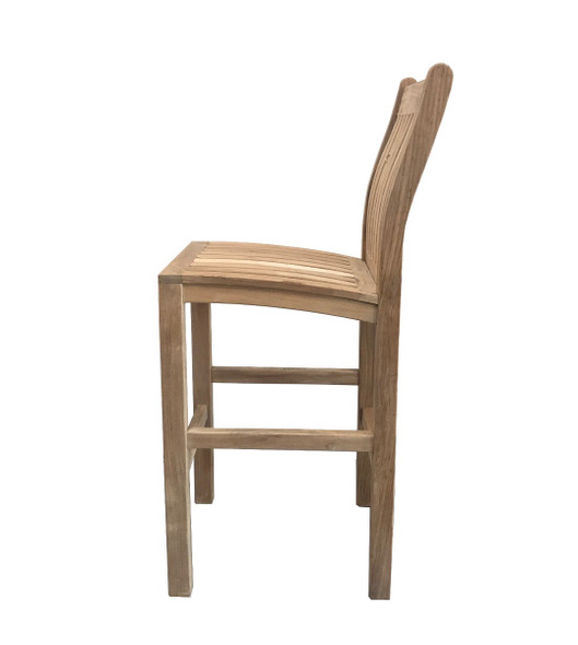 Classic Side Bar Chair by Classic Teak