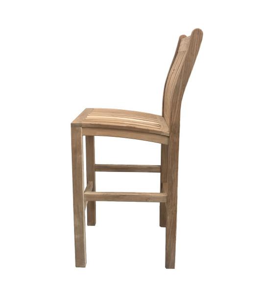 Classic Side Bar Chair by Classic Teak