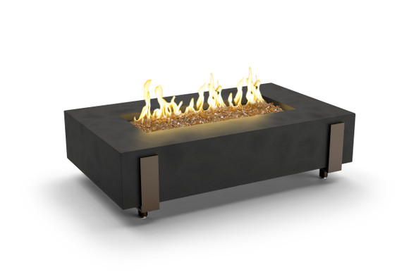"60"" Iron Saddle Firetable by American Fyre Design"