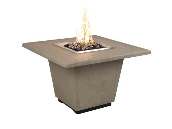 "36"" Cosmopolitan Square Firetable by American Fyre Design"