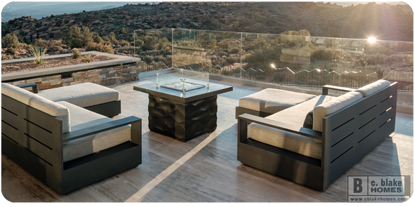 "36"" Voro Firetable by American Fyre Design"