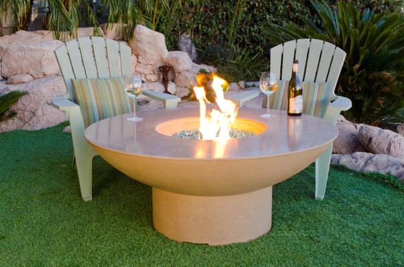 "48"" Lotus Firetable by American Fyre Design"