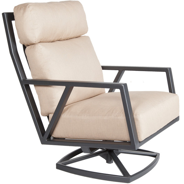 Aris Swivel Rocker Lounge Chair by OW Lee