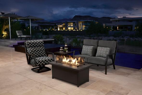 Aris Swivel Rocker Lounge Chair by OW Lee