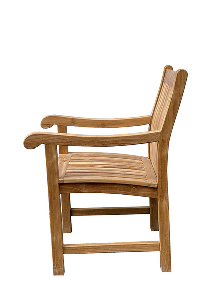 Teak Dining Arm Chair by Classic Teak