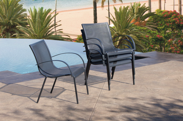 Lennox Stacking Side Chair by OW Lee