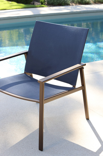 Marin Sling Dining Arm Chair by OW Lee