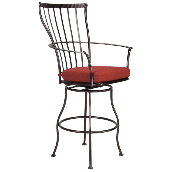 Monterra Swivel Bar Stool With Arms by OW Lee