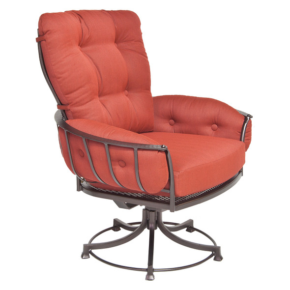 Monterra Club Dining Swivel Rocker Arm Chair by OW Lee