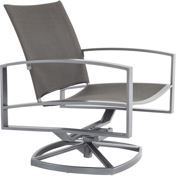 Pacifica Flex Comfort Swivel Rocker Dining Arm Chair by OW Lee