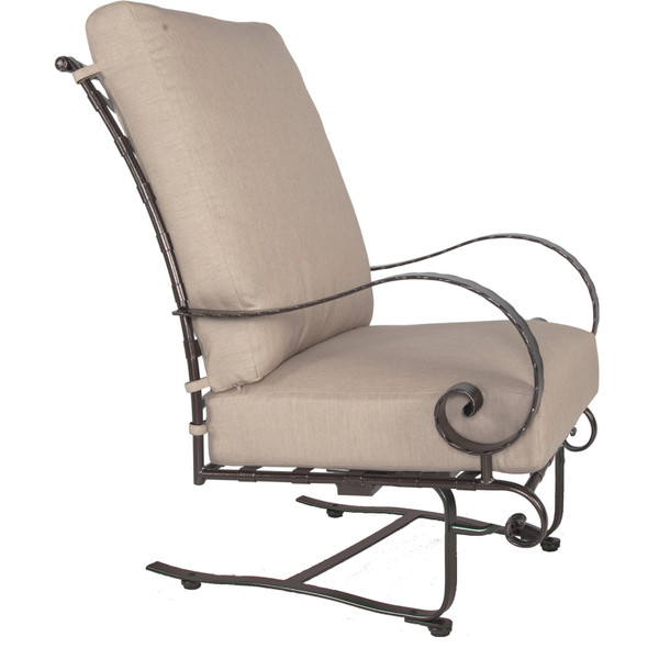 Classico Hi-Back Spring Base Lounge Chair OW Lee