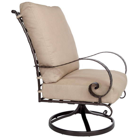 Classico Hi-Back Swivel Rocker Lounge Chair OW Lee