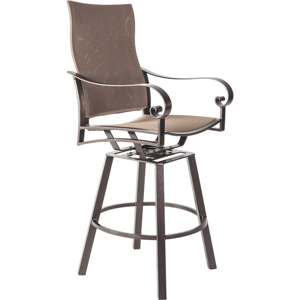 Pasadera Flex Comfort Swivel Counter Stool by OW Lee